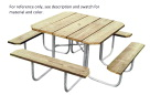 Outdoor Picnic Tables Supplies, Item Number 1364743
