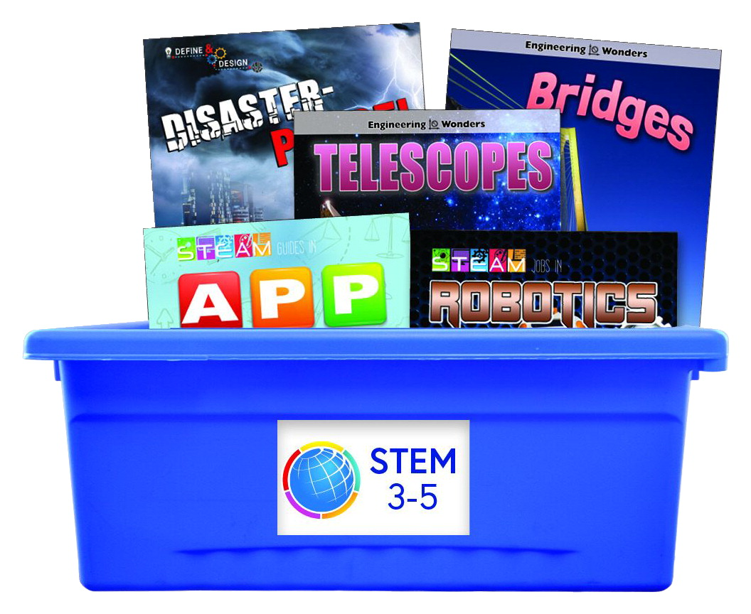 Rourke Publishing STEM Collection, Grades 3 to 5, Set of 50