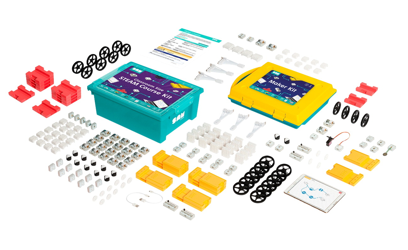 SAM Labs Bundle-STEAM Kit-Class Size and Maker Kit