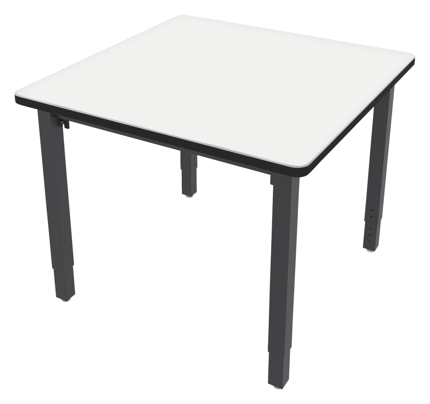 Classroom Select Vigor Table, 36 Inch Square Markerboard Top with LockEdge, Various Options