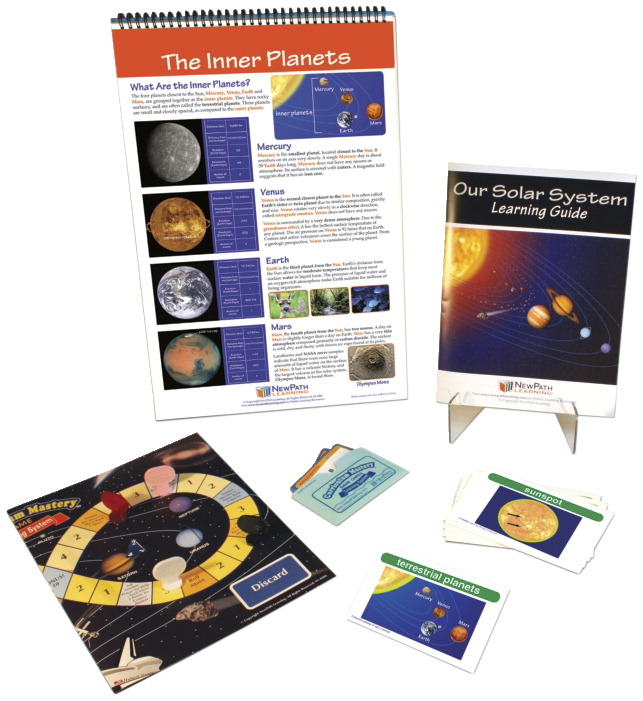 Newpath S Our Solar System Curriculum Learning Module Soar Life Products