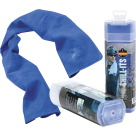 Ergodyne Chill-Its 6602 Evaporative Cooling Towel, Blue, 13 x 29 Inches, Each