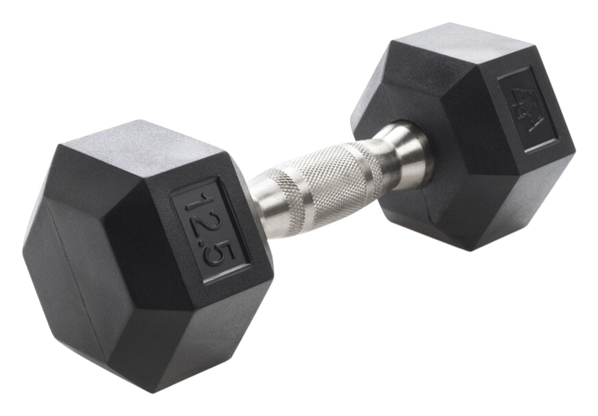 Hampton Dura-Bell Dumbbell, 12-1/2 Pounds, Set of 2