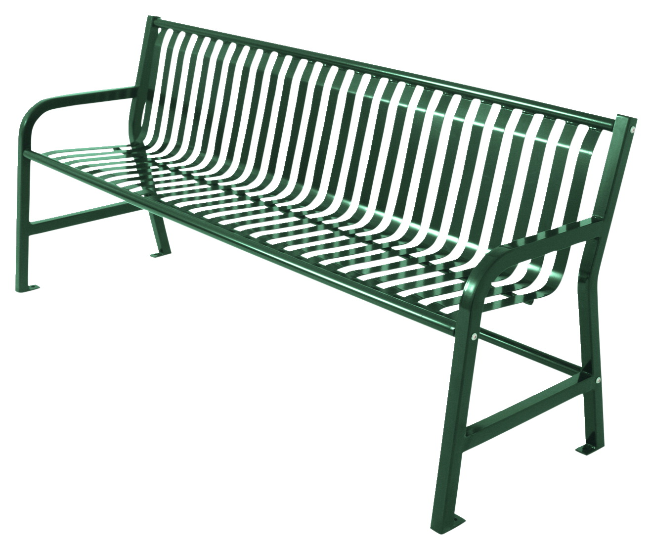 UltraSite 6 Ft Jackson Bench With Back, Various Options
