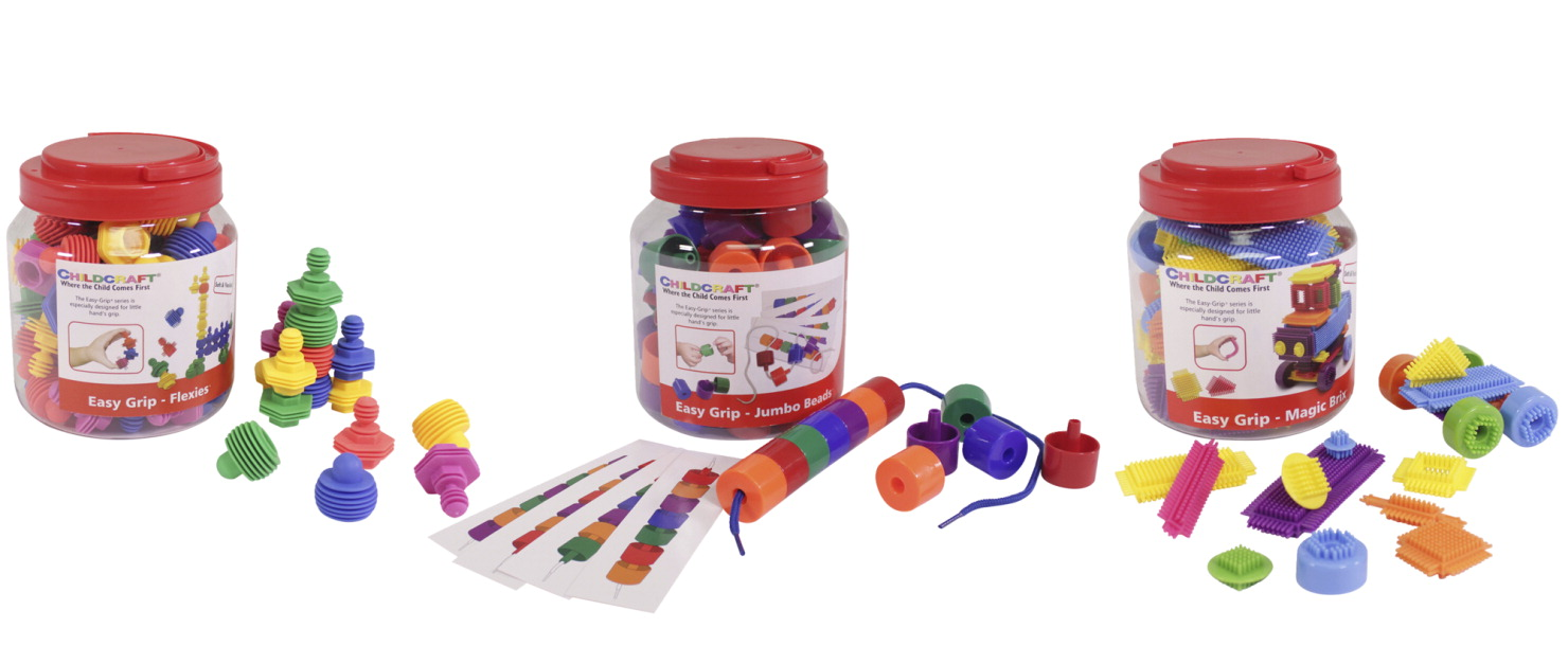 Childcraft Manipulative Kit, Set of 3