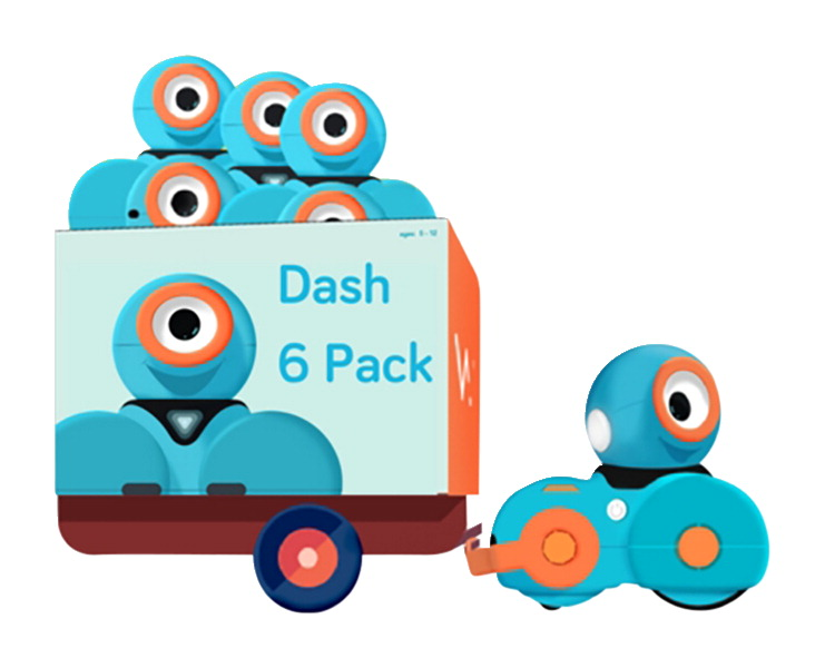 Wonder Workshop Dash 6-Pack