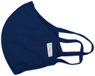 Reusable, Anti-microbial Face Mask, Navy Blue, Adult, Pack of 5