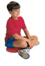 Sportime Disc O Sit Inflatable Junior Seating and Balance Cushion, 12 L in