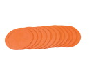 Sportime Spot Markers, 9 Inches, Orange, Set of 12