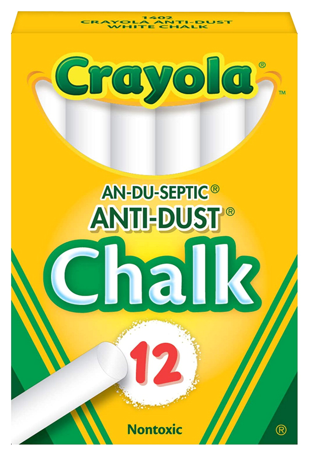 Crayola Chalkboard Chalk, White - SCHOOL SPECIALTY MARKETPLACE