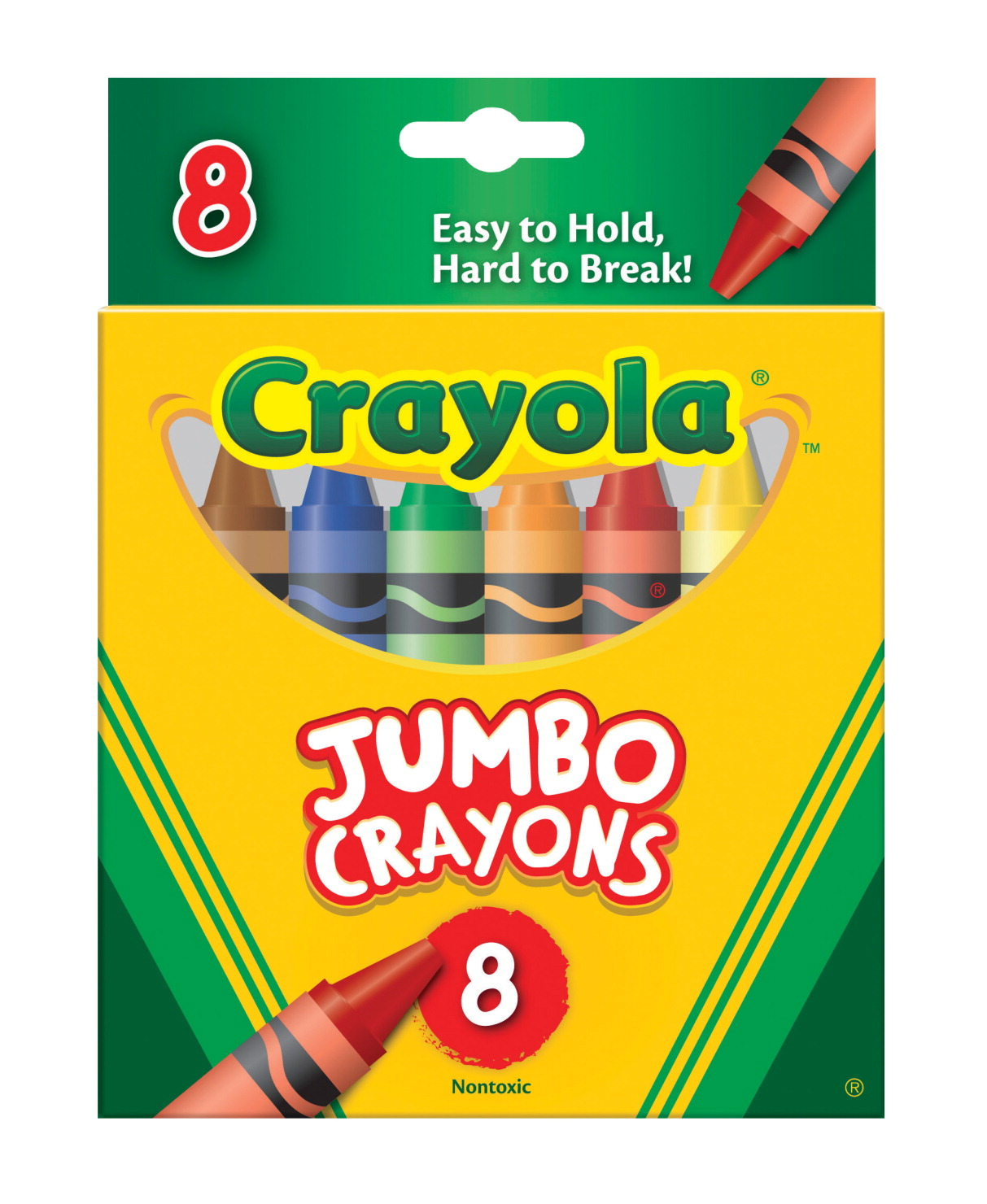Crayola Crayon, Assorted - SOAR Life Products