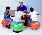 Therapy Balls, Large Inflatable Ball, Item Number 008677