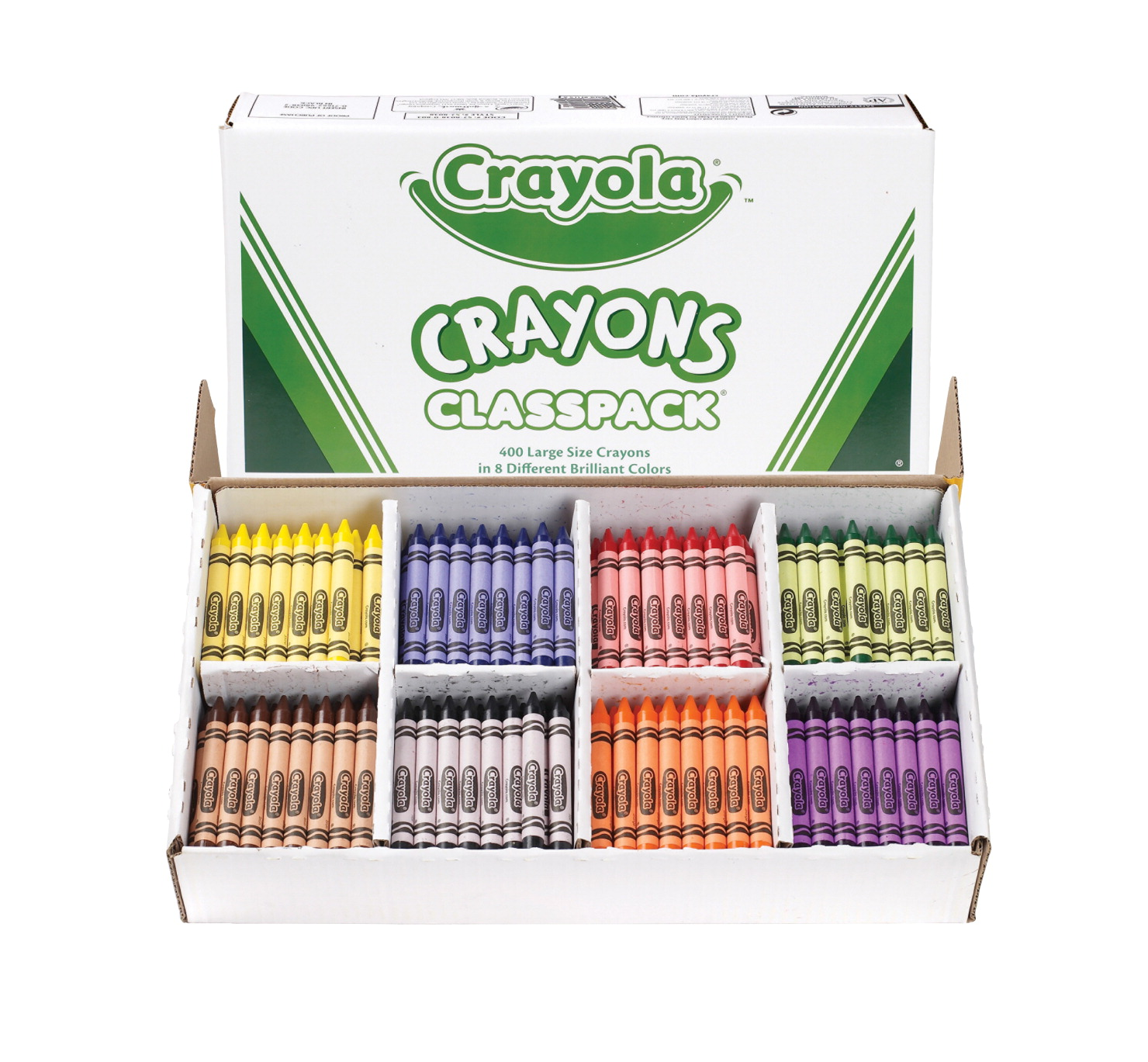 Crayola Large Crayons, Assorted Colors - SOAR Life Products