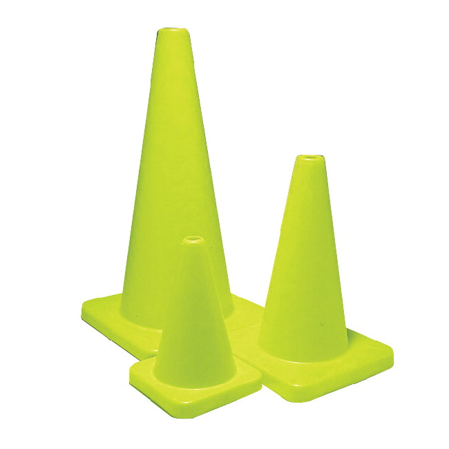 Sportime 18 Inch Yeller Game Cone, Yellow
