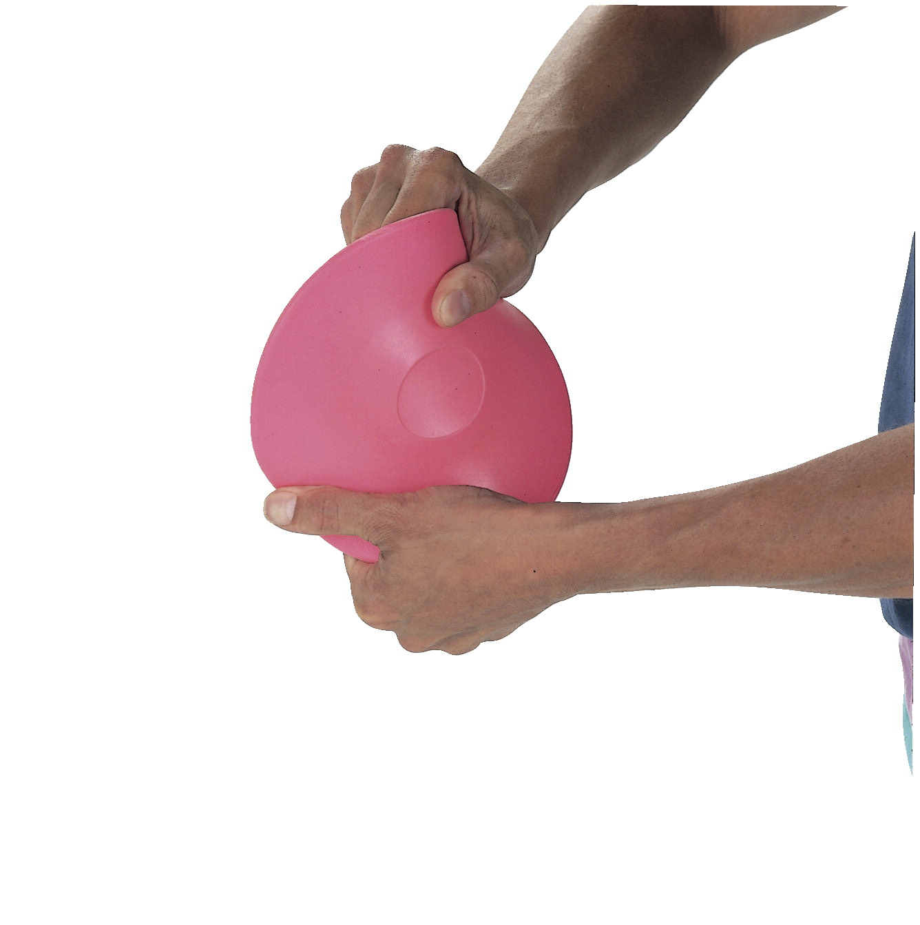 Sportime Beginner Discus, Thermoplastic, 1 Pound, 7 Inches, Pink