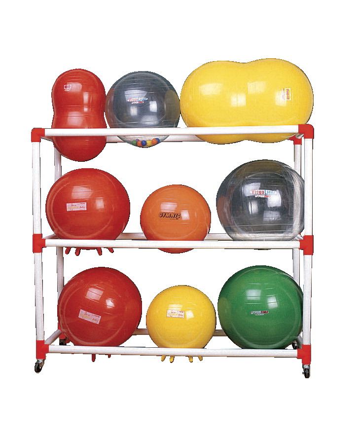 Duracart Exercise Ball Cart, Holds up to 9 Exercise Balls