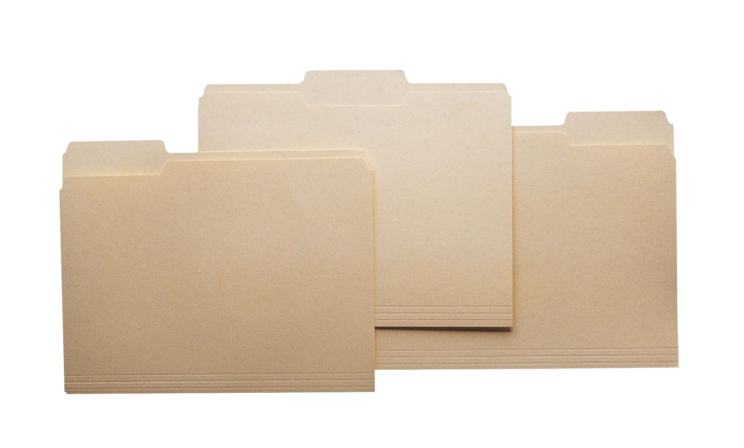 School Smart 1/3 Cut Manila File Folder, Letter, 11-3/4 L x 9-1/2 W in, 3/4 in Expansion, Mediumweight, Pack of 100