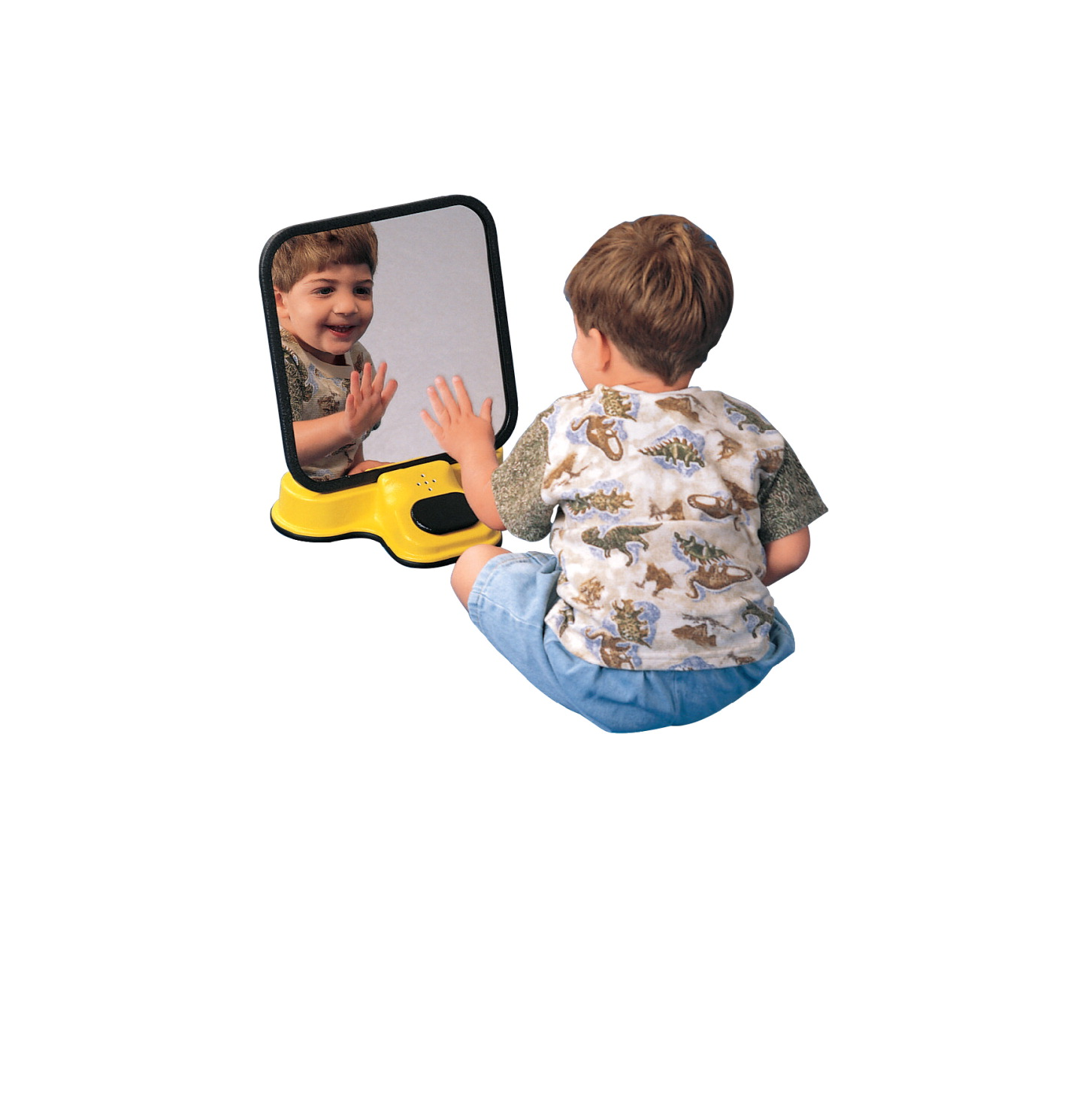 Sensation Products Talking Speech Therapy Unbreakable Mirror, 8 X 12 X-14 in, Acrylic