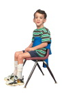 Abilitations Integrations Adjustable Chair Hugger - Can be Adapted to Any Chair, Lycra