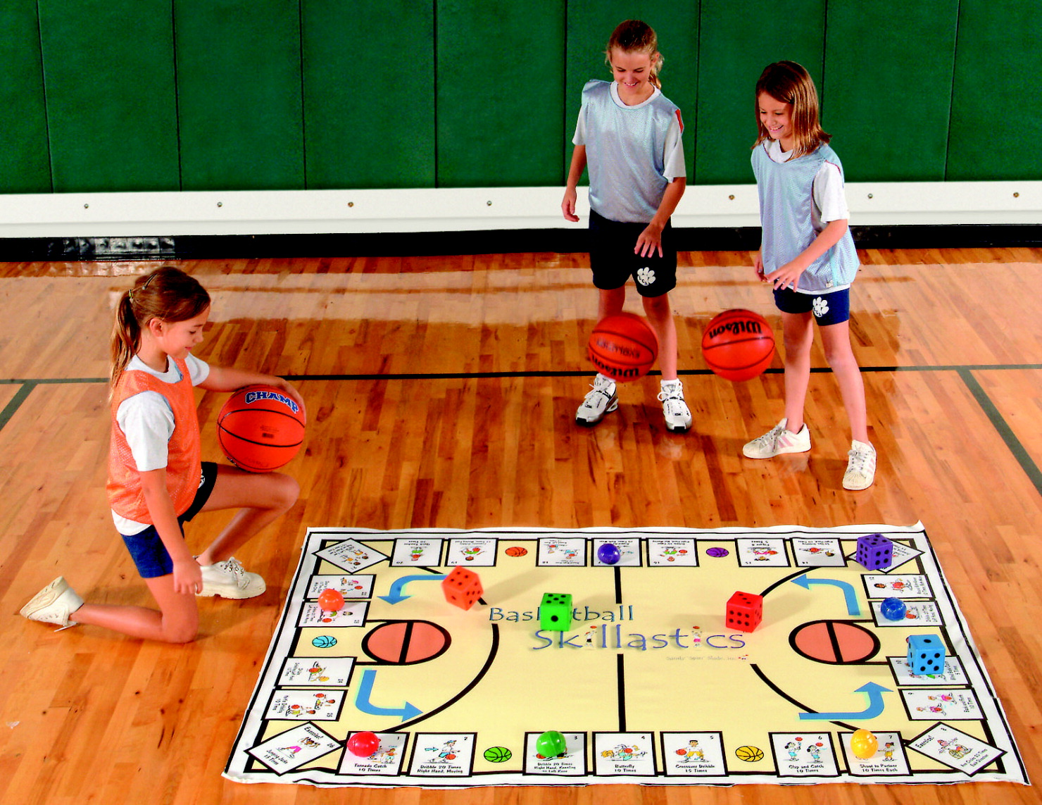 Skillastics Basketball Game for Grades 2 to 8