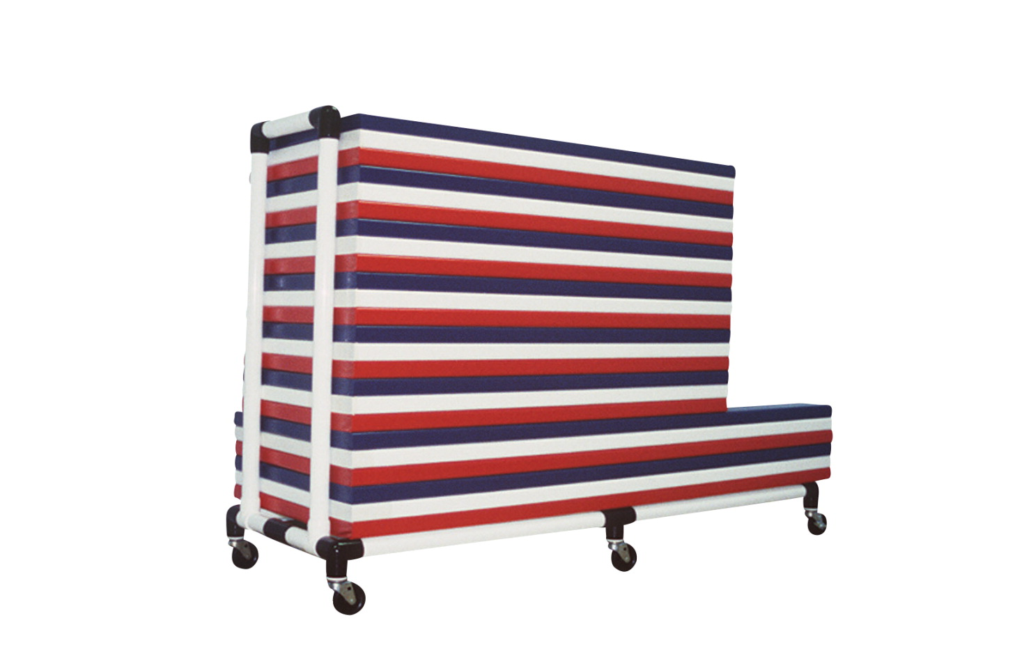 Duracart Mat Mover Storage Cart, 66 x 7 x22 Inches