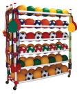 Sports Equipment Storage & Carts , Item Number 021982