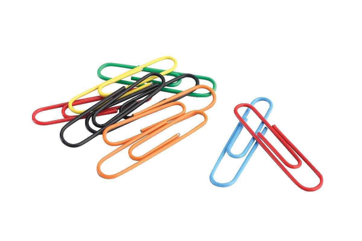 school smart paper clip, assorted - soar life products