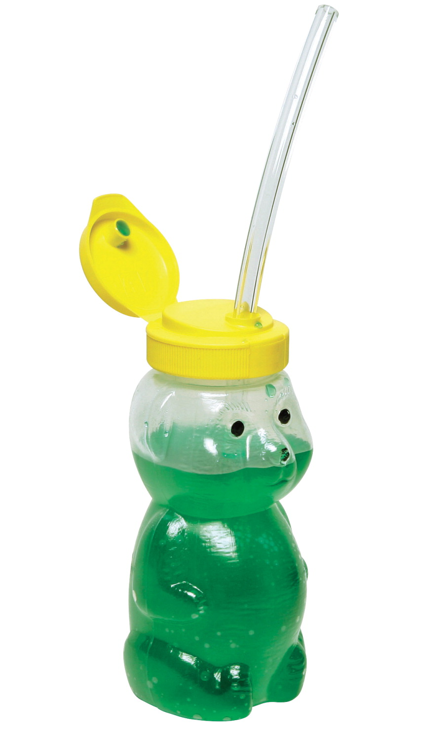 Abilitations Mr. Juice Bear Cup with 3 Straws