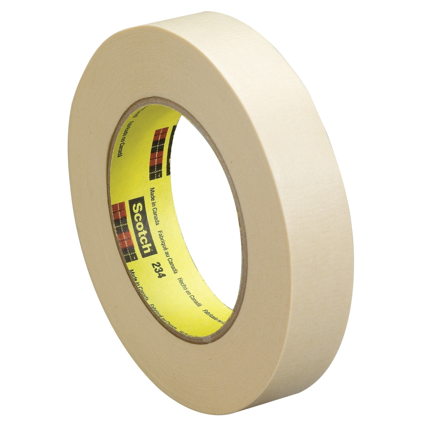 Scotch 234 General Purpose Masking Tape, 0.75 Inch x 60 Yards, Tan