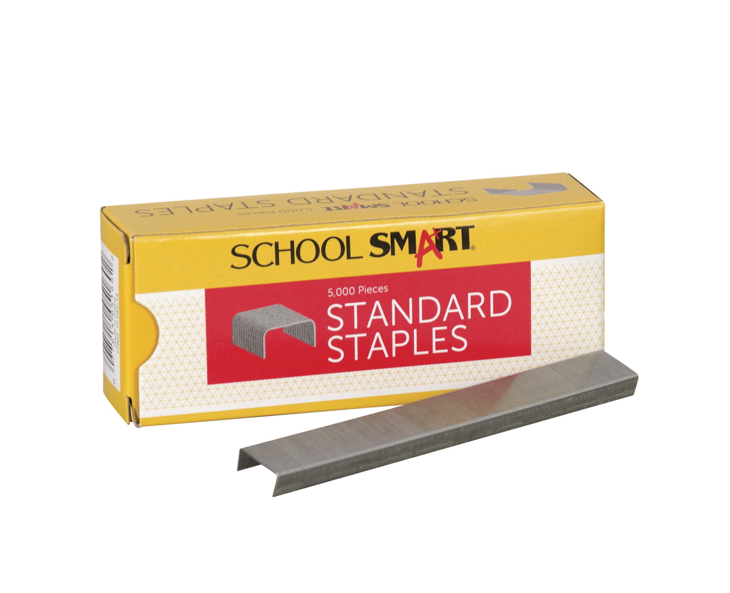 School Smart Stapler Individual Set Black Silver School