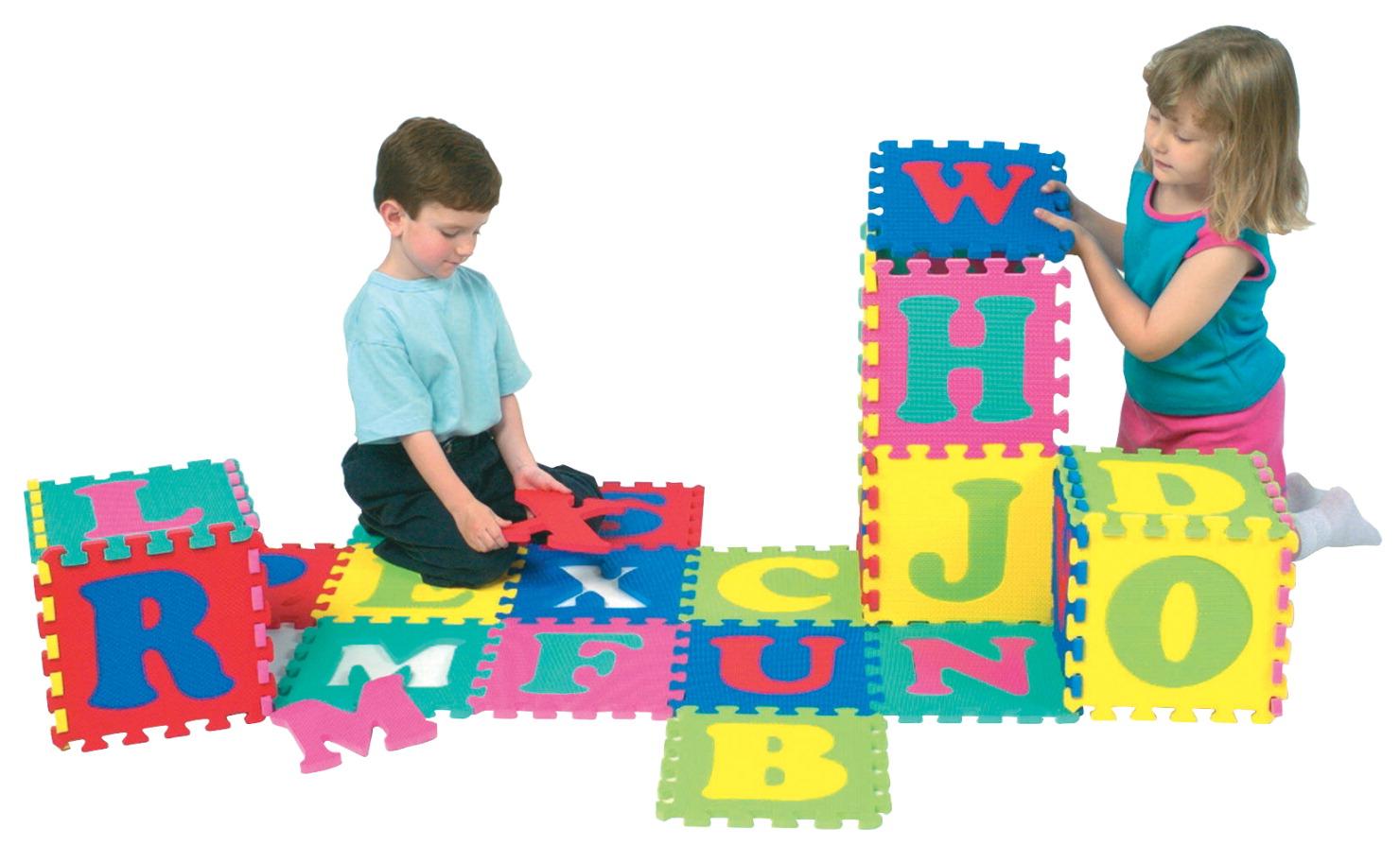 Wonderfoam Alphabet Interlocking Puzzle Mat School