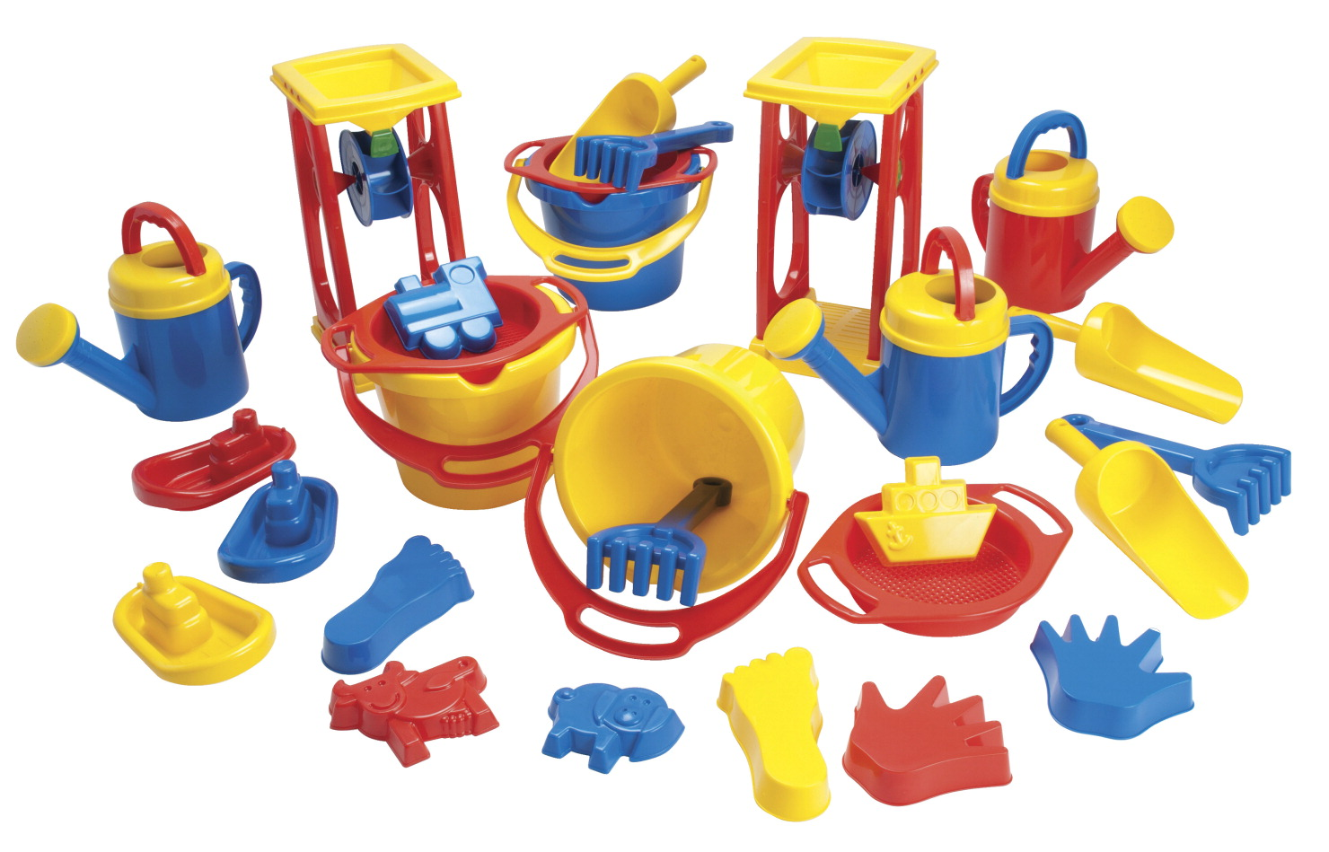 Childcraft Classroom Sand And Water Play Set 28 Pieces