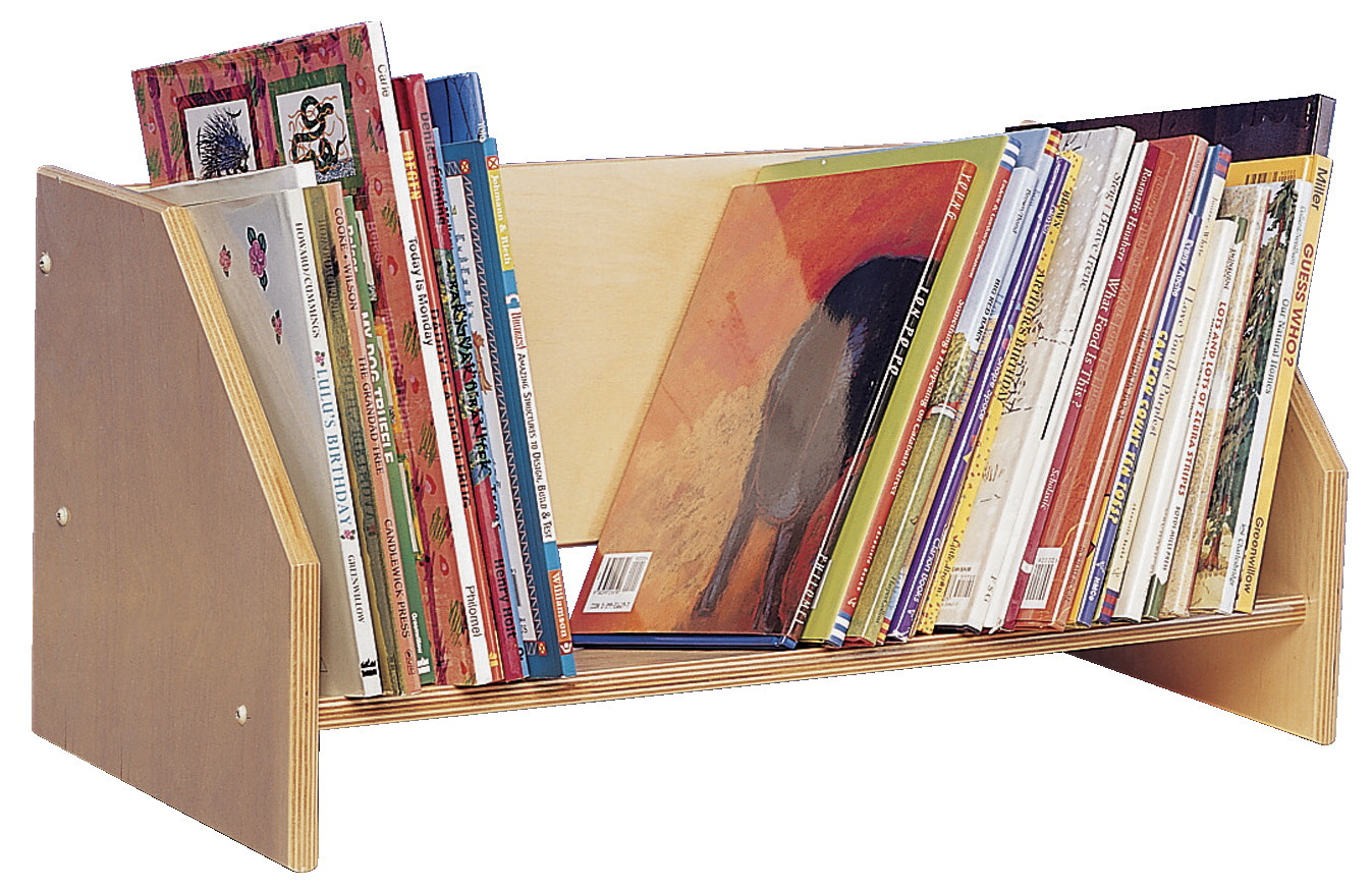 Bird In Hand Tabletop Book Display, 24 W x 11-1/2 D x 11-1/2 H in