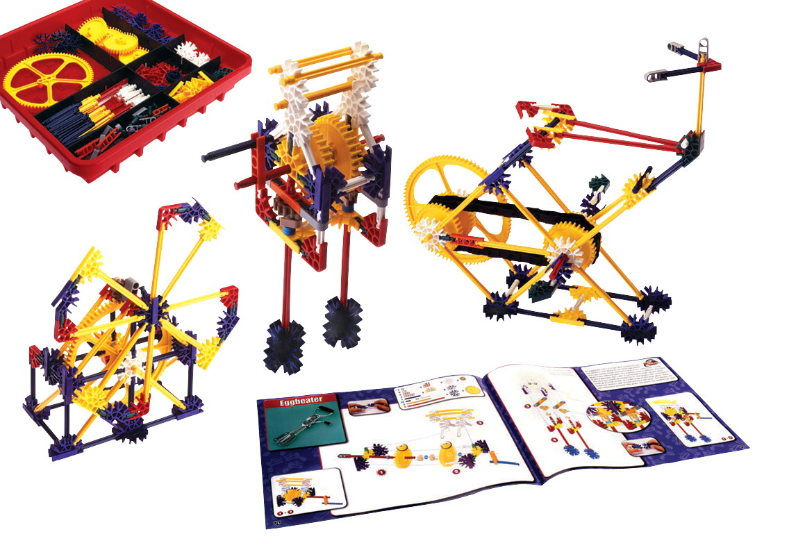 Knex simple machines gears set school specialty marketplace knex introduction to simple machines gears set of 198 pieces sciox Image collections