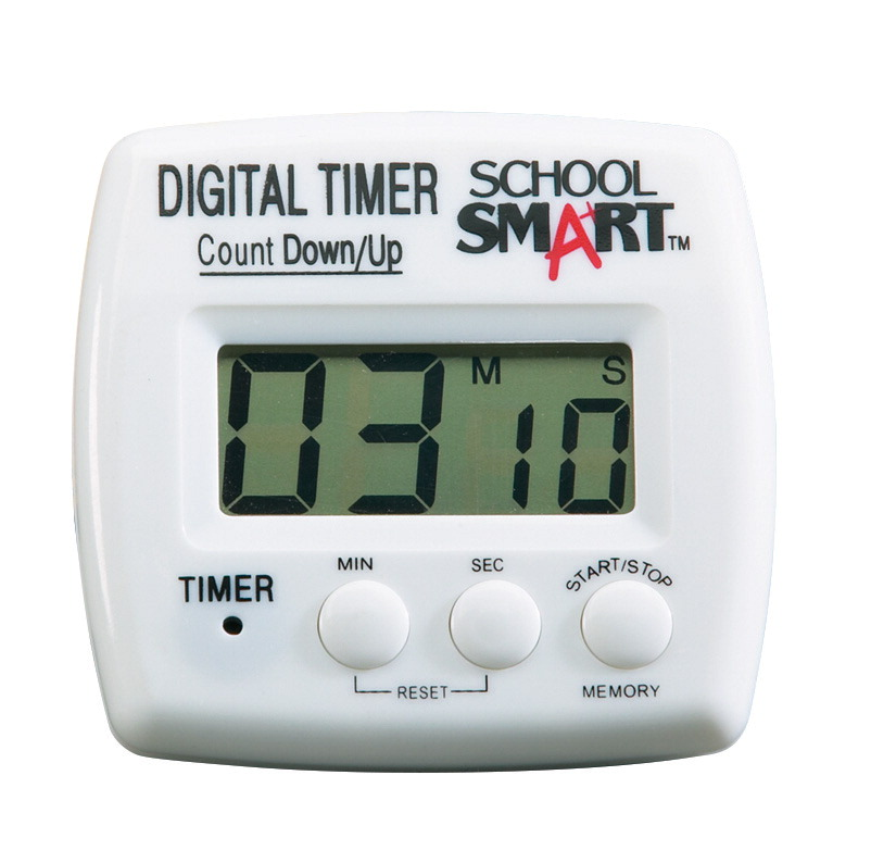 Topnotch School Smart Count up/Count Down Timer, Digital - SOAR Life Products EL07