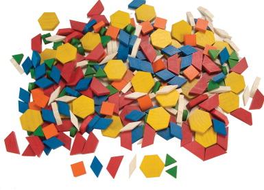 everyday math pattern block template - pattern block set school specialty marketplace