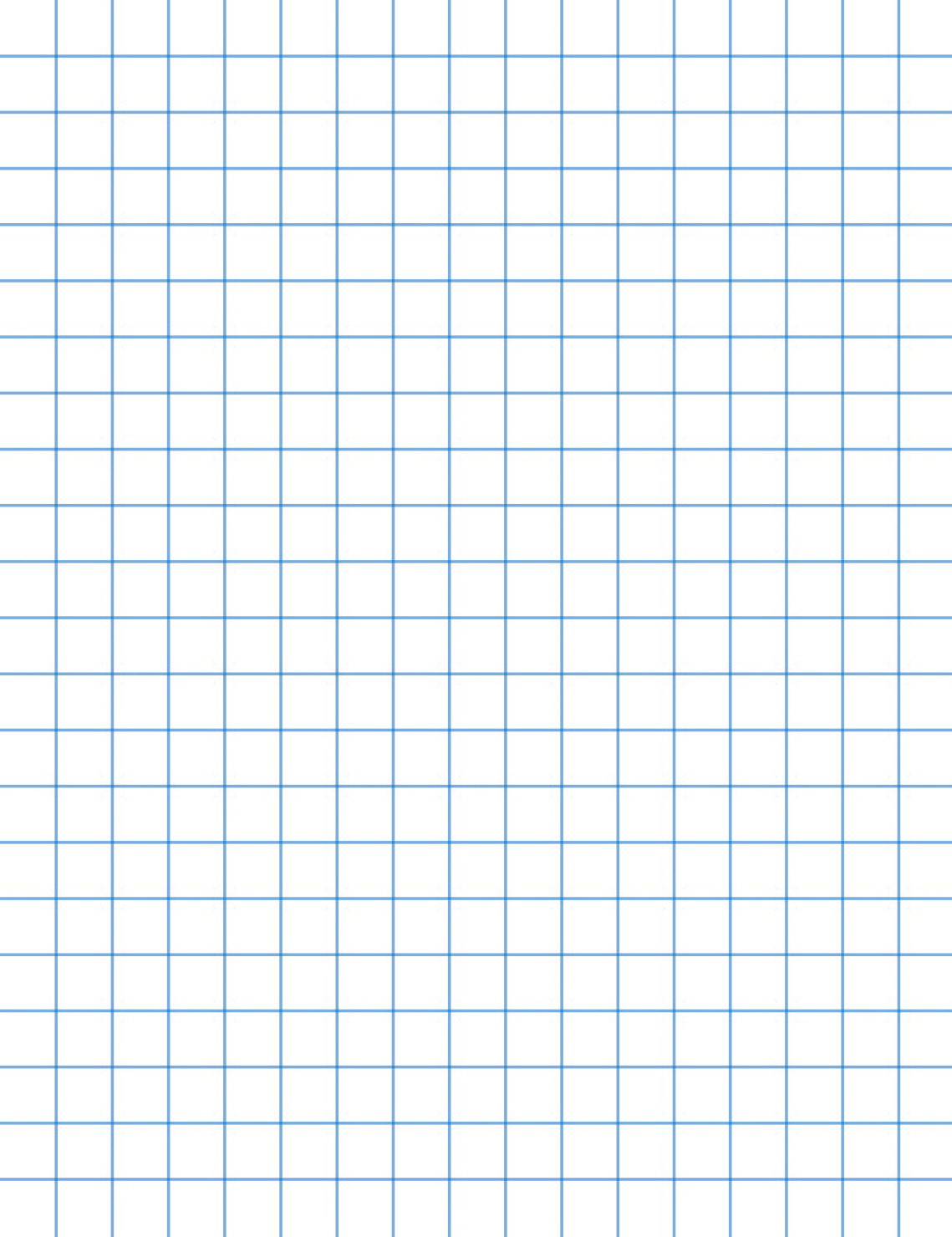 School Smart Graph Paper Letter Size Half Inch Rule
