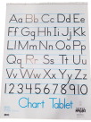 Chart Tablets, Chart Supplies, Item Number 085335