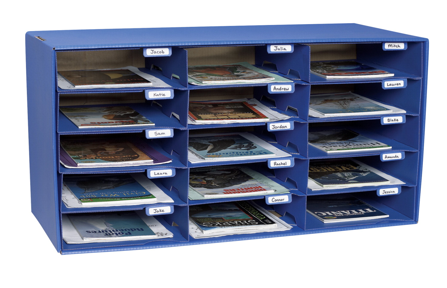 Classroom Keepers 15 Slot Mailbox 16 38 X 31 12 X 12 78 Inches
