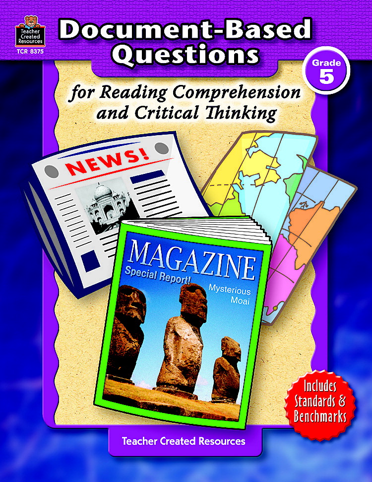 Document-Based Questions for Reading Comprehension and Critical Thinking -  Grade 5