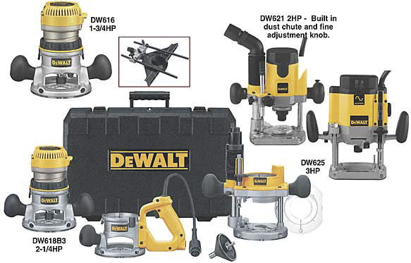 Router kit school specialty canada woodworkers dewalt dw618b3 3 base variable speed router kit 2 12 keyboard keysfo Image collections