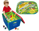 School Specialty Large Road and Rail Playmat