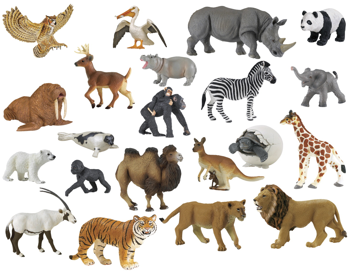 Zoo Animal Set Classroom Direct