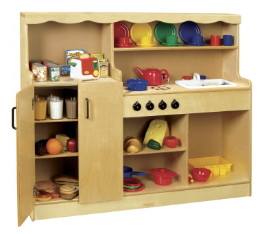 Kitchen unit school specialty marketplace for Child craft play kitchen