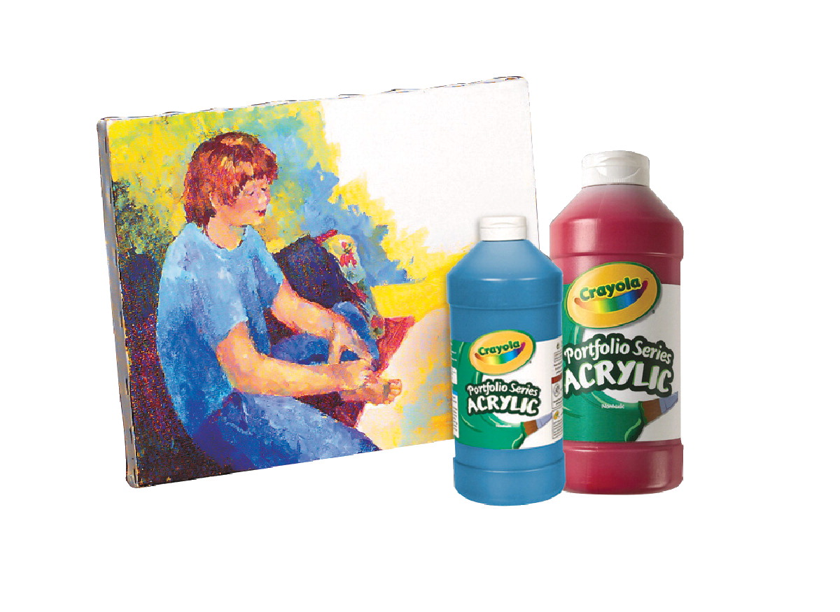 Crayola Acrylic Paint Msds