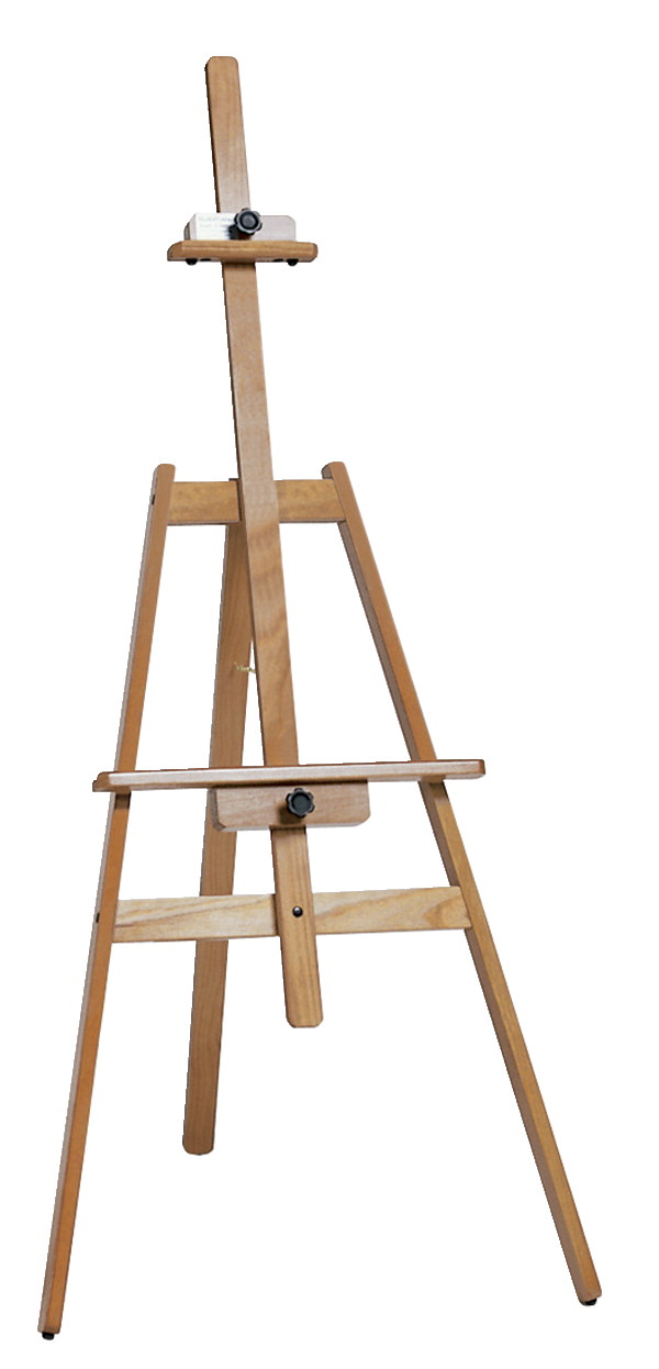 Jack Richeson Lyptus Navajo Easel, 58 in H X 27-1/2 in W X 22 in D, Hardwood