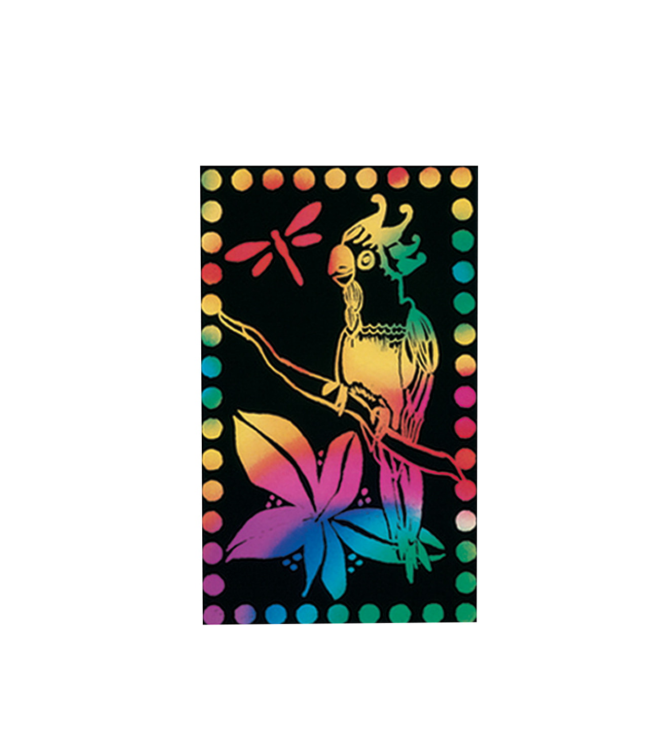 Scratch-Art Scratch Lite Paper, 8 x 9-3/4 Inches, Multiple Colors, 30 Sheets