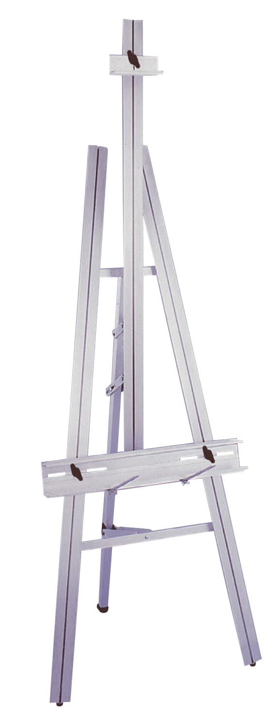 School Specialty Durable Lightweight Superior Artist Easel, 86 in H X 20 in D X 24 in, Aluminum