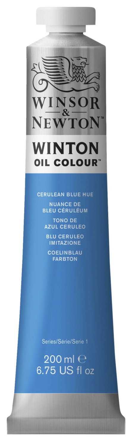 Winsor Newton Winton Oil Color 6 75 Ounce Cerulean Blue Hue