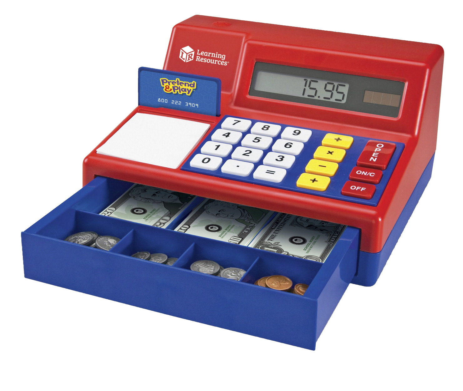 how to set up a cash register